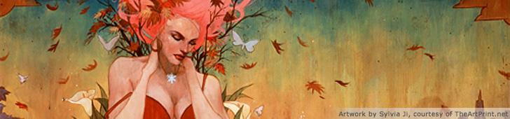 Artwork by Sylvia Ji, courtesy of TheArtPrint.net